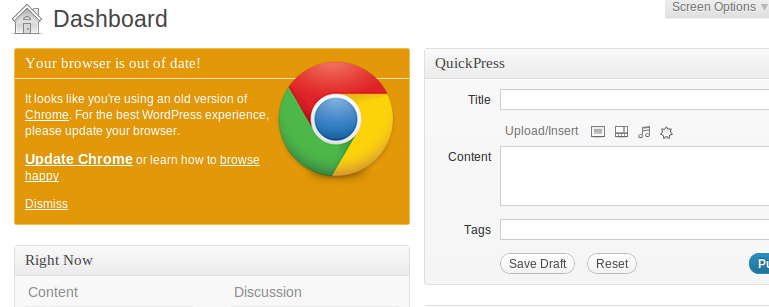 Как для всех пользователей отключить предупреждение о том, что ваш браузер устарел