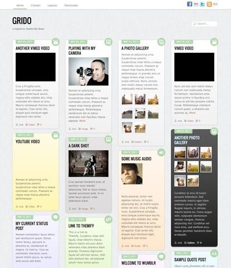 Многоблочная тема Grido | n-wp.ru