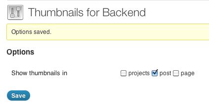 Как показать миниатюры постов в админке | Thumbnails for Backend