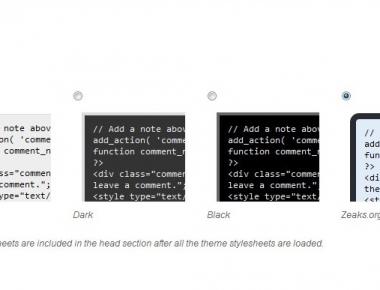 Zeaks Snippets - плагин для добавления программного кода в посты | n-wp.ru