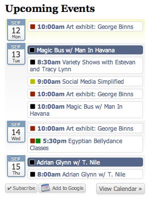 All-in-One Event Calendar - плагин для создания мощного календаря и системы событий (2)