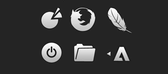 Mnml Icon Set