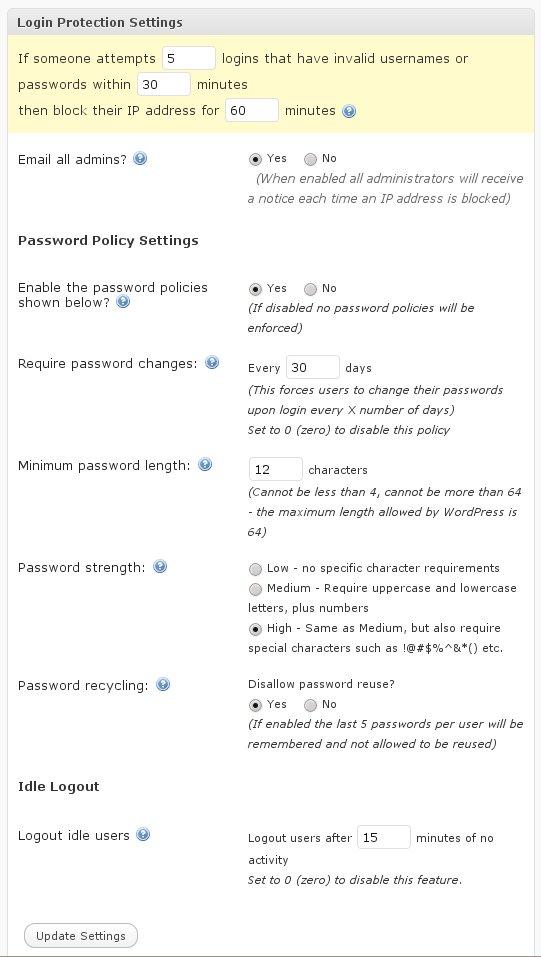 Как установить полный контроль за входом в блог - Login Lock | n-wp.ru
