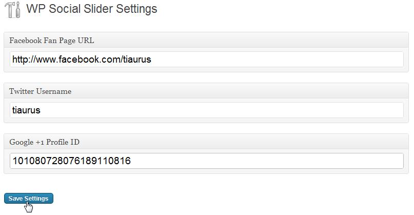 Как добавить трансляции из социальных сетей в блог - WP Social Slider | n-wp.ru
