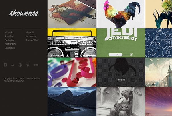 30 премиум тем для портфолио на WordPress - Showcase