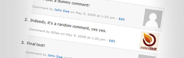 Индивидуальное оформление комментариев разных пользователей | n-wp.ru
