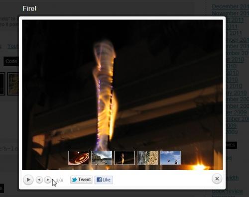 Вывод изображений и видео поверх содержимого - плагин prettyPhoto Media | n-wp.ru