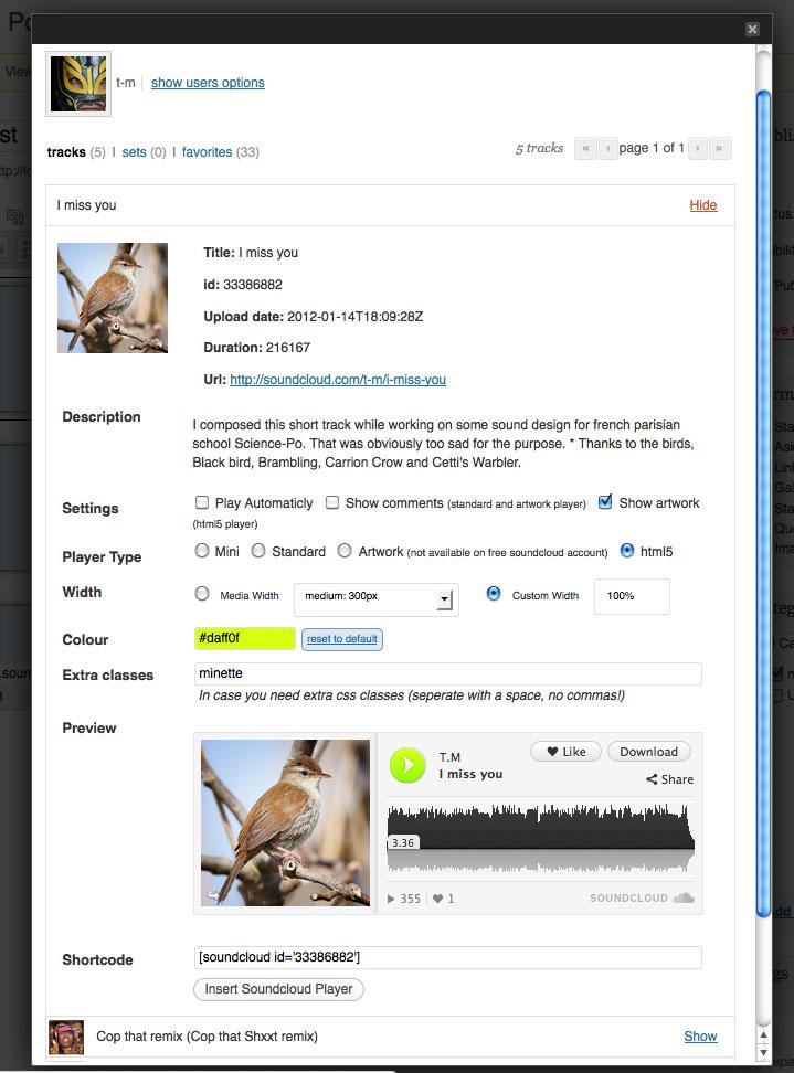 SoundCloud Is Gold - удобный плагин для работы с аудио, размещенного в сервисе SoundCloud (5)