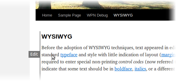 Front-end Editor - плагин для правки постов, не заходя в админку | n-wp.ru