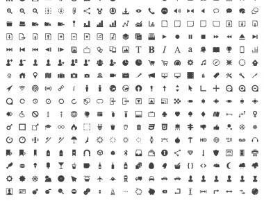 Pyconic Icons Free - 400 бесплатных минималистичных иконок | n-wp.ru