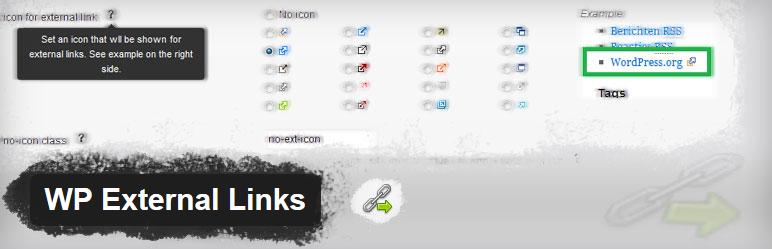WP External Links - плагин для управления внешними ссылками и добавления к ним индивидуального оформления | n-wp.ru