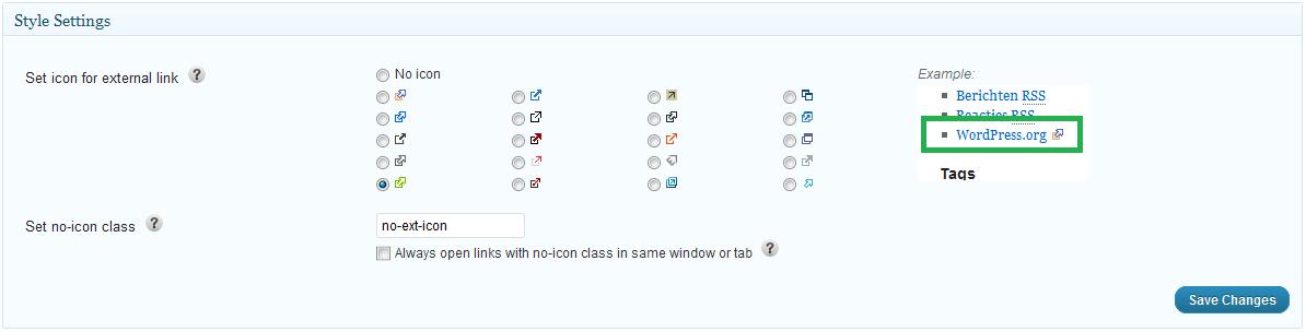 WP External Links - плагин для управления внешними ссылками и добавления к ним индивидуального оформления (1)
