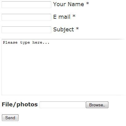 Js Contact Form - простая контактная форма для обратной связи с возможностью отправки изображений | n-wp.ru