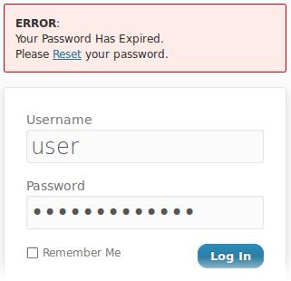 WordPress Password Expiry - плагин, определяющий срок действия паролей пользователей | n-wp.ru