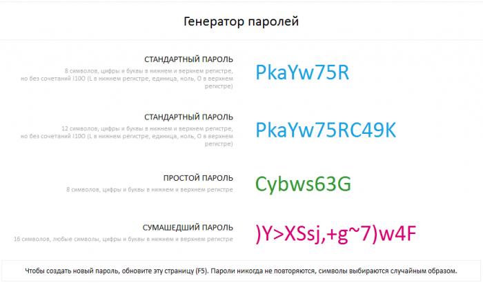 Как сделать букву пароля