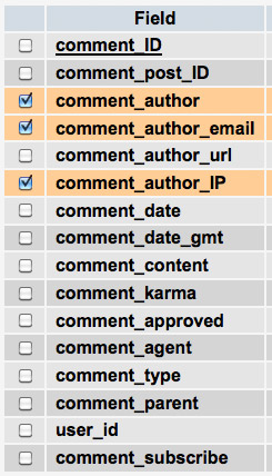 Использование базы данных для вывода информации о комментаторах | n-wp.ru