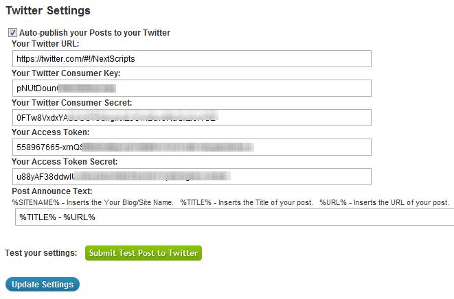 NextScripts - плагин для автоматической отправки постов в социальные сети (3)