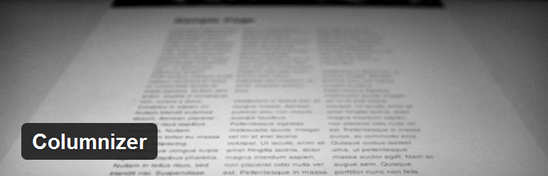 Columnizer - плагин для форматирования текста поста в несколько колонок