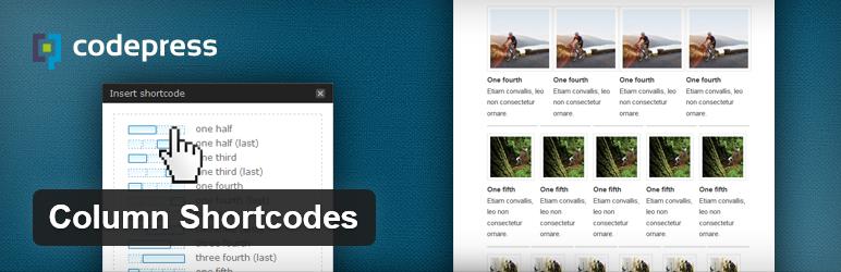 Column Shortcodes - плагин для вставки текста, разбитого на несколько колонок разной ширины | n-wp.ru