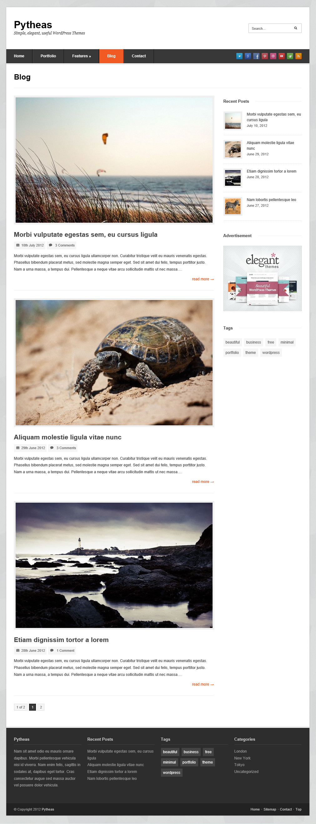 Pytheas - отзывчивая тема для корпоративного блога (6)