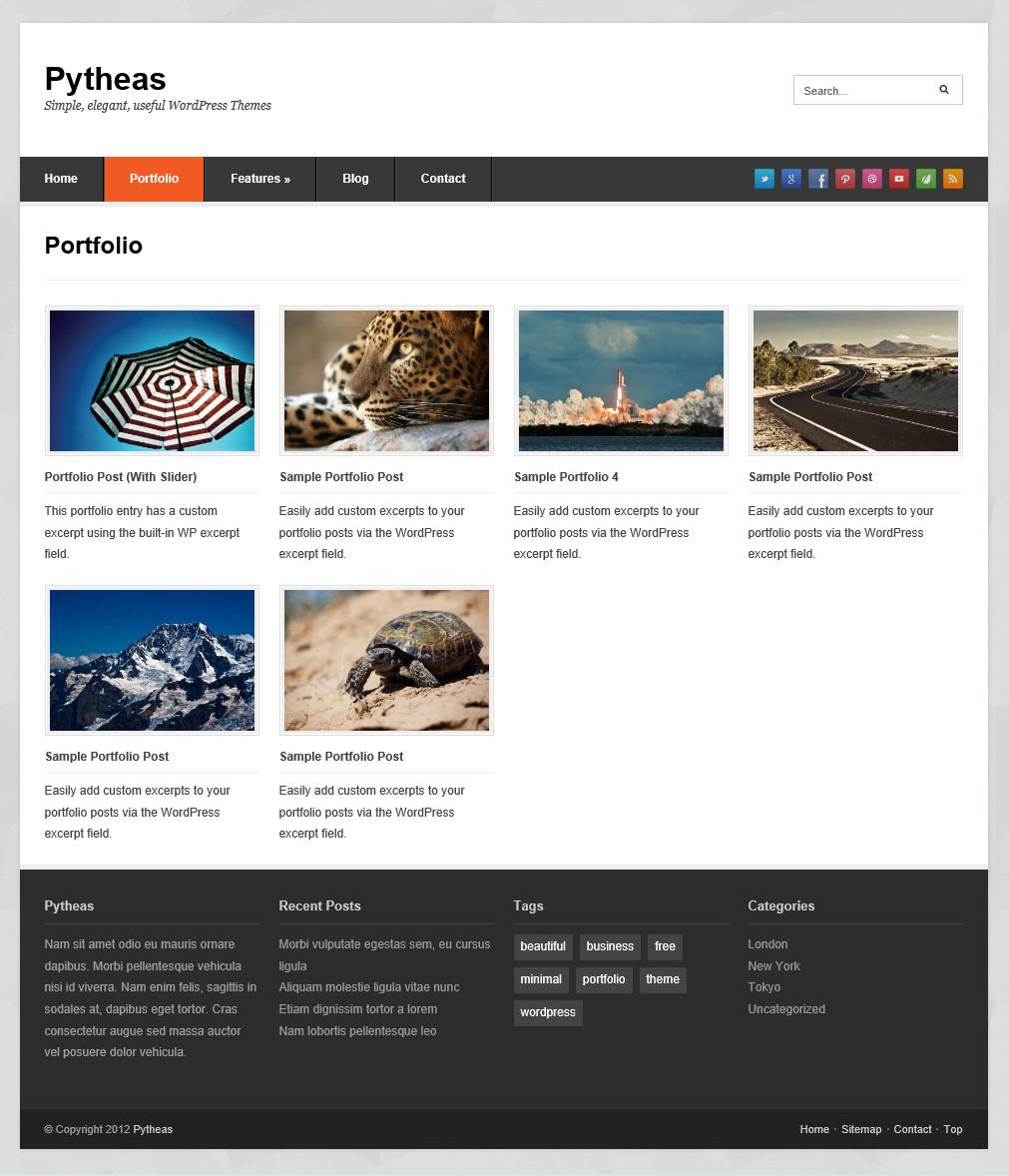 Pytheas - отзывчивая тема для корпоративного блога (4)