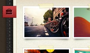 Leatherly - стильная тема для личного блога с оригинальным оформлением (13)