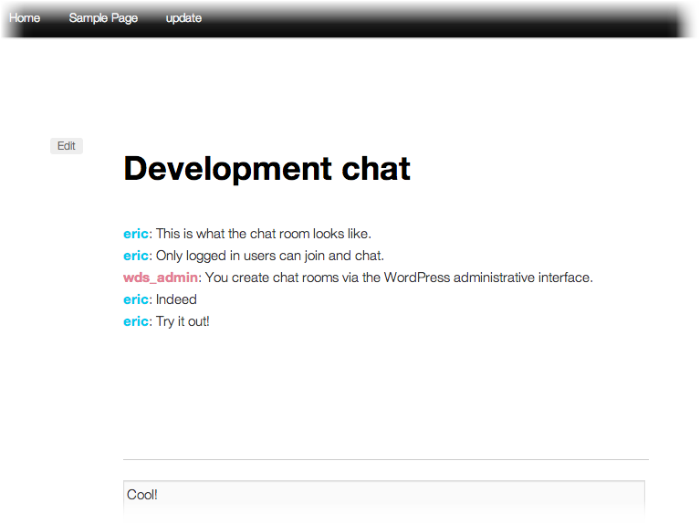 Chat Room - чат для зарегистрированных пользователей (3)