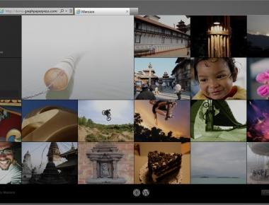 Mansion и Fullscreen - две темные темы с адаптивным дизайном для организации фотоблога | n-wp.ru