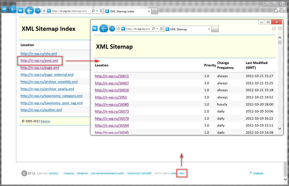 Новые возможности блога n-wp.ru: поиск по блогу с помощью Google и Яндекса, HTML и XML карты, генератор паролей (2)
