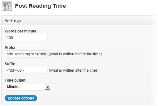 Как вывести приблизительное время чтения поста   n-wp.ru