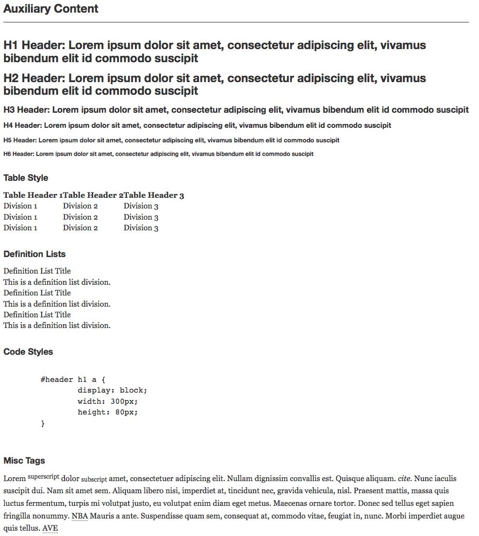 WP Lipsum - плагин для заполнения страниц блога демонстрационными данными (2)