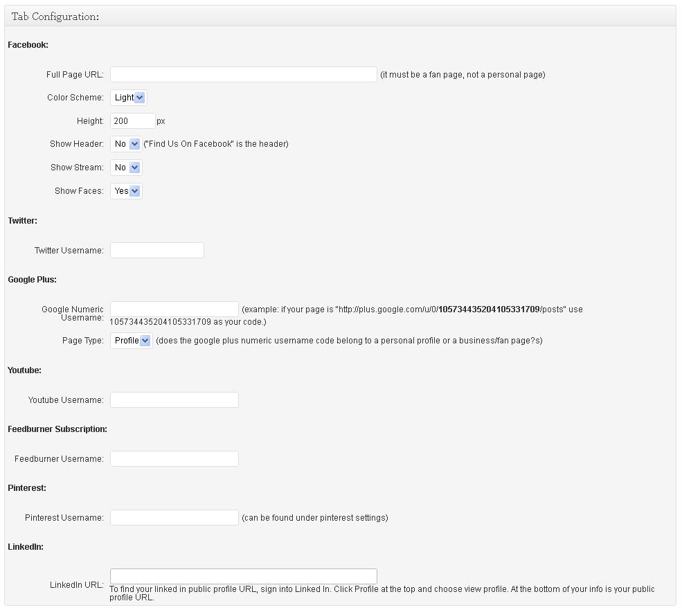 WP-FlyBox - плагин для интеграции социальной подписки (2)