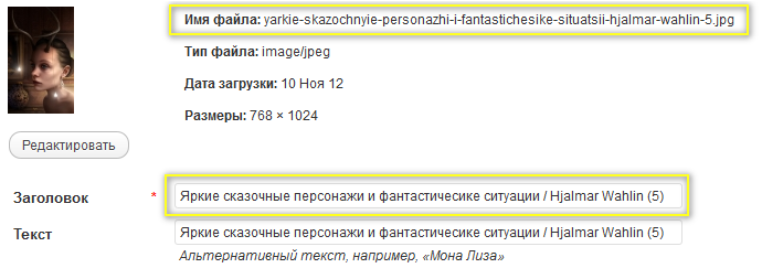 Как автоматически переименовывать медиа-файлы при вставке в пост   n-wp.ru