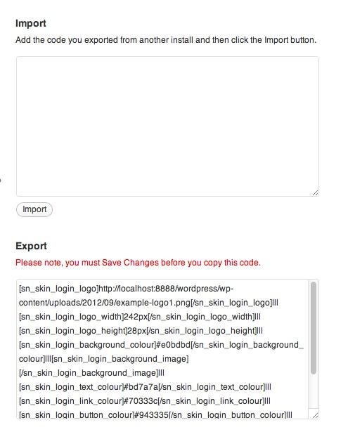 Skin Login - плагин для управления внешним видом страницы входа и регистрации (2)