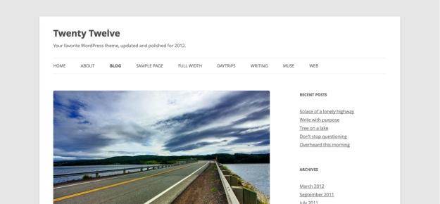 Что нового в WordPress 3.5 (4)