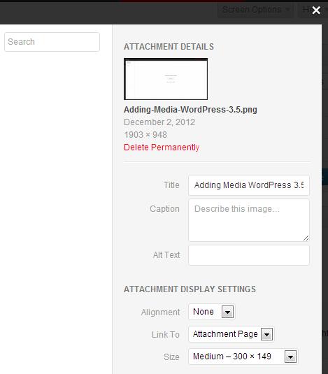 Что нового в WordPress 3.5 (3)