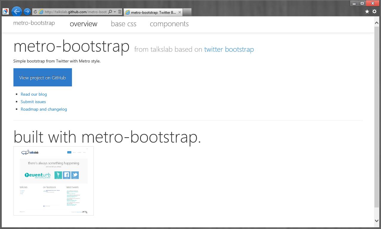 Источники для оформления сайта в стиле Modern UI (Metro UI) (12)