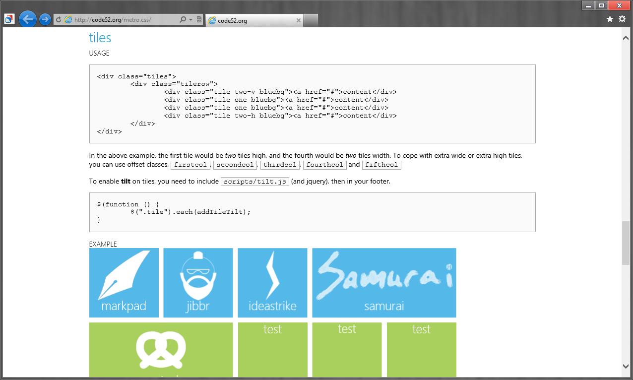Источники для оформления сайта в стиле Modern UI (Metro UI) (11)