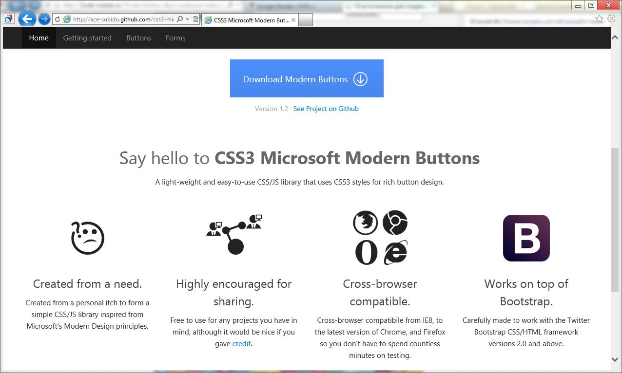 Источники для оформления сайта в стиле Modern UI (Metro UI) (7)
