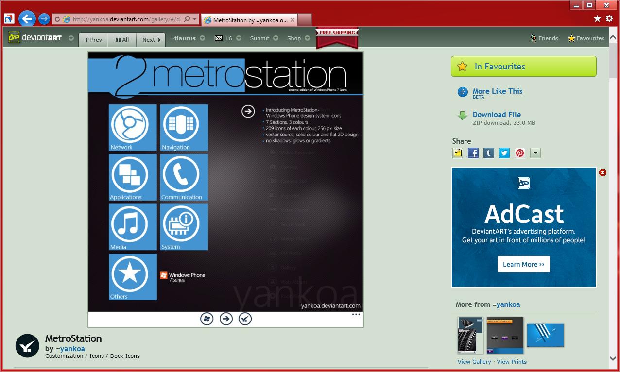 Источники для оформления сайта в стиле Modern UI (Metro UI) (2)