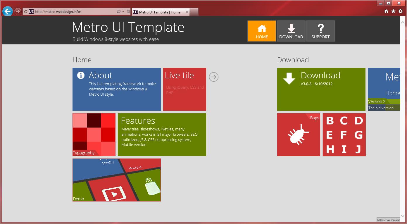 Источники для оформления сайта в стиле Modern UI (Metro UI) (14)