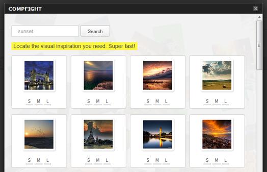 Compfight - плагин для поиска и вставки в записи бесплатных изображений (3)