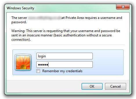 Как закрыть папку паролем (3)