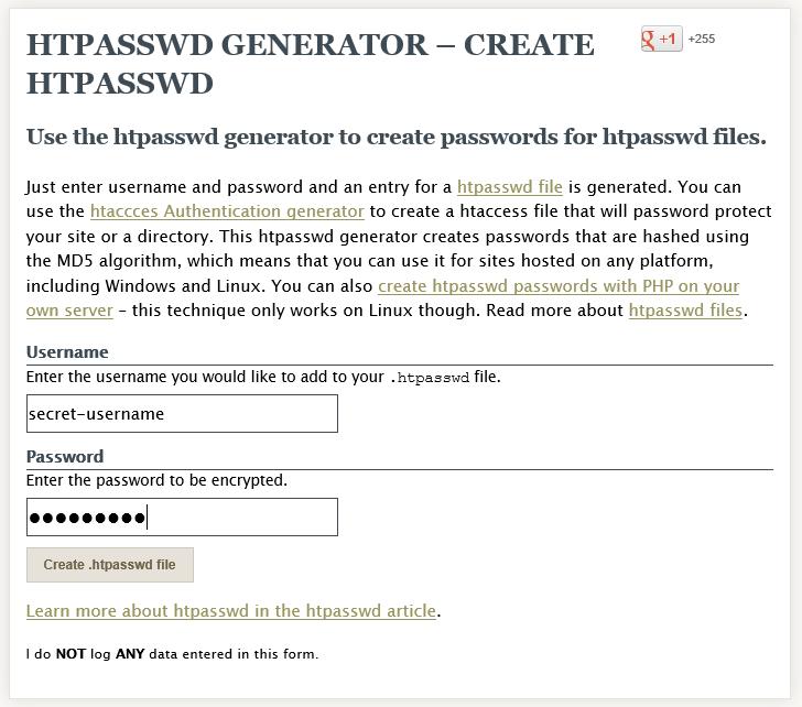 Как закрыть папку паролем с помощью файлов htpasswds и htaccess | n-wp.ru