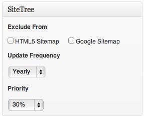 SiteTree - плагин для создания XML и HTML карты сайта (4)