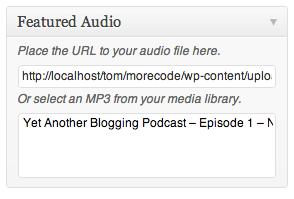 WP Audio Player - плагин, добавляющий в посты плеер для воспроизведения MP3 (1)