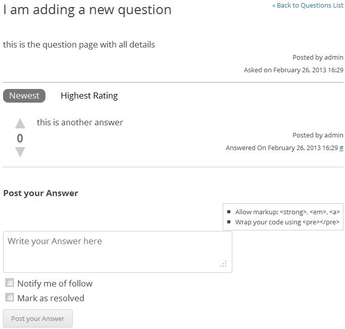 CM Answers - плагин для создания системы Q2A (вопросов и ответов) (2)