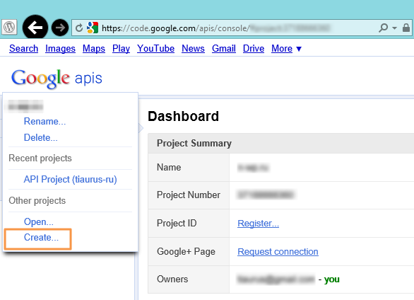 Google Adsense Dashboard for WP - плагин для просмотра финансовой статистики в административной части блога (3)
