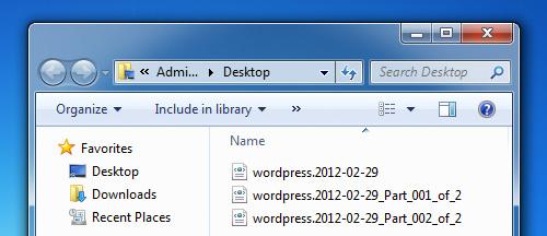 Как разделить один большой XML-файл на несколько мелких - программа WXR File Splitter (3)