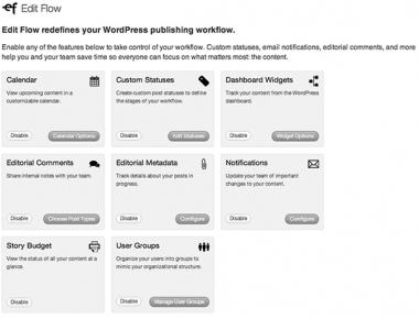 Edit Flow - функциональный плагин для координации работы нескольких авторов в блоге WordPress   n-wp.ru